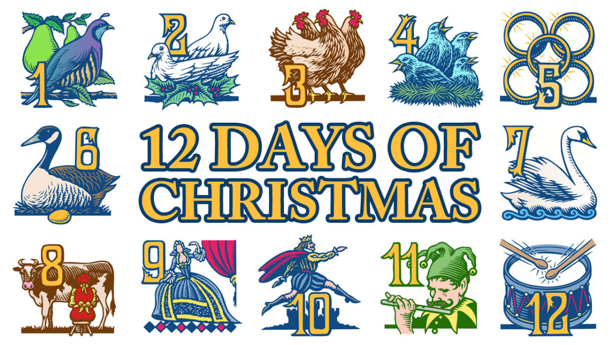 12 Days Of Christmas Lyrics.Twelve Days Of Christmas Trivia And Lyrics Nana S Corner