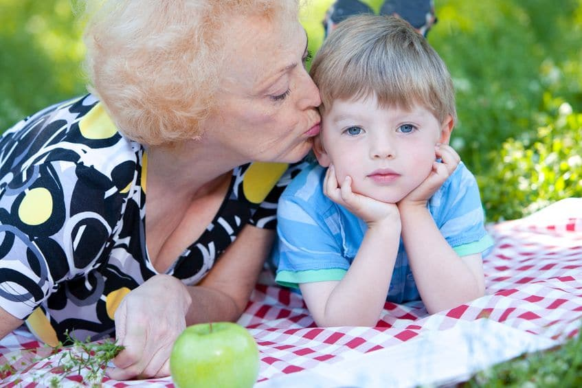 nana to grandchild poem