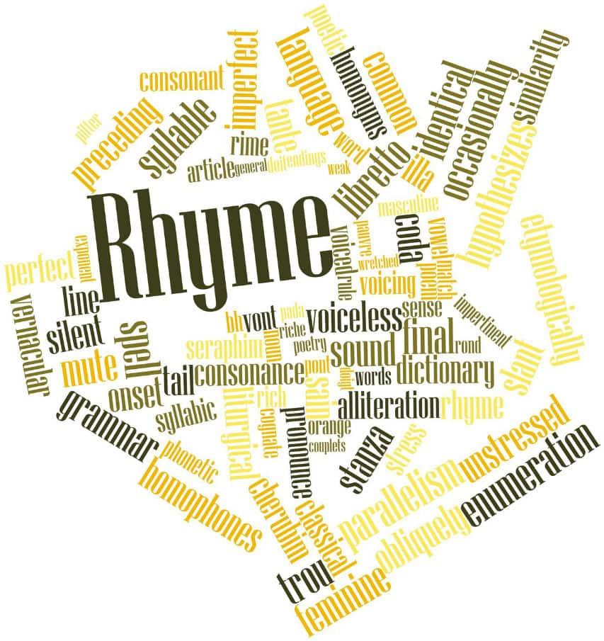 internal rhyme examples