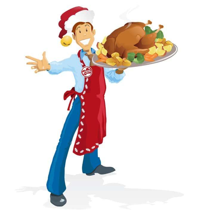 funny turkey dinner poem