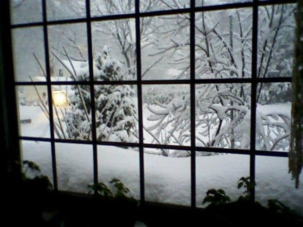 winter's window alliteration example poem