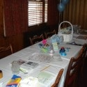 baby shower scrapbooking theme