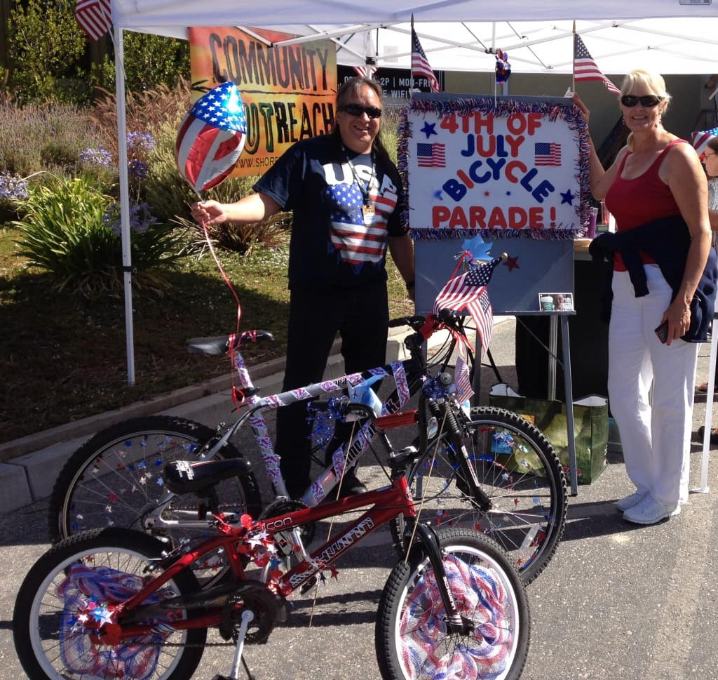 DIY 4th of july bike parade