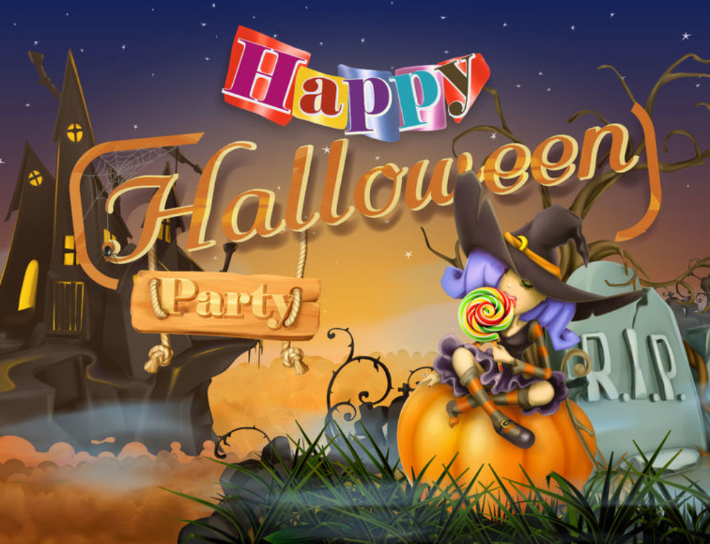 Awesome Halloween Party Music [Tweens]