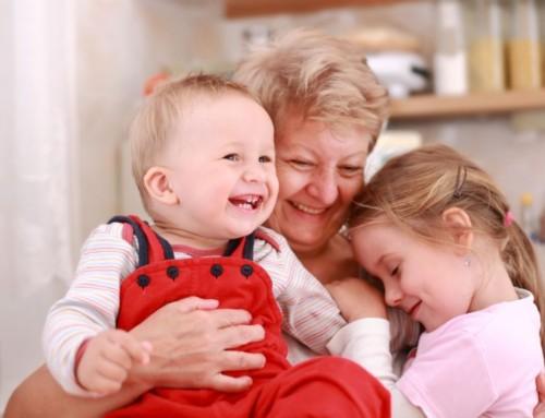 Grandmother Hugs and Grandmother Kisses