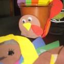 thanksgiving turkey handprint crafts