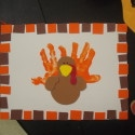 thanksgiving turkey handprint crafts