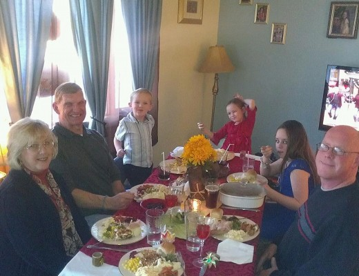 old fashioned Thanksgiving dinner poem
