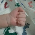 newborn child handprint poem