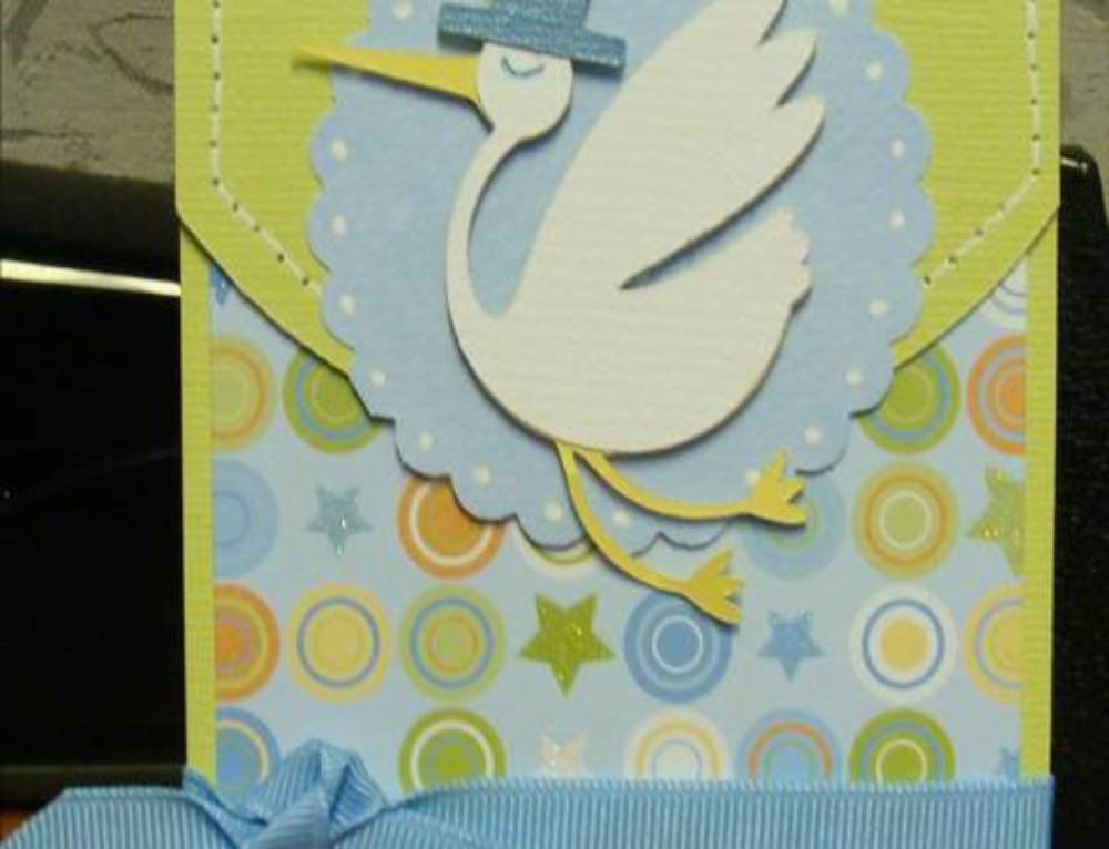 Baby Shower Scrapbooking Theme and Poem