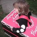 homemade halloween birthday cake costume