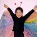 homemade halloween butterfly costume