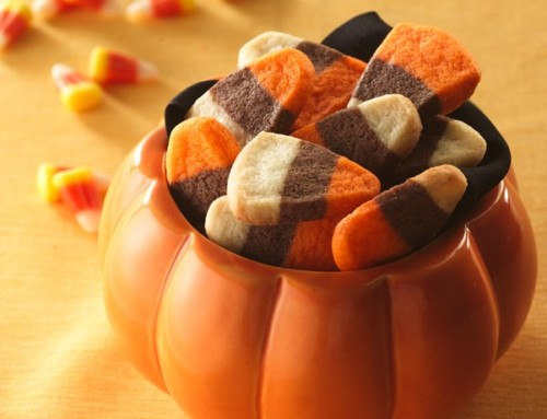 Halloween Treats: 114 Candy Corn Cookies
