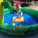 grandparent gifts - Grandpa, come over for fun water play!