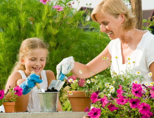Children's Garden Poem with Children's Gardening Tips Directory
