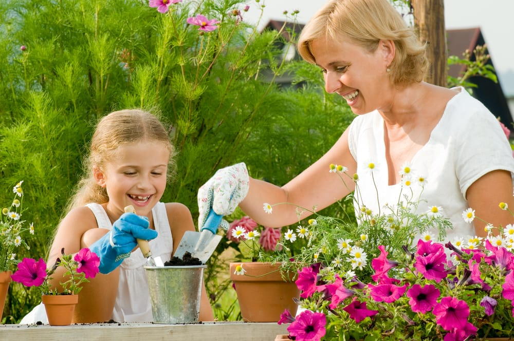 gardening with kids spring poem