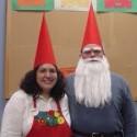 homemade halloween gnome couple costume
