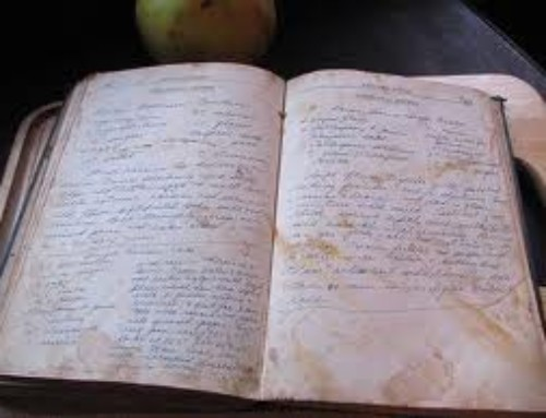 Cooking Poem: Grandma's Recipes