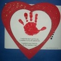 handprint valentine poems
