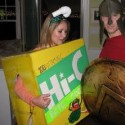 homemade halloween hi-c box costume