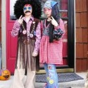 homemade halloween hippies costumes