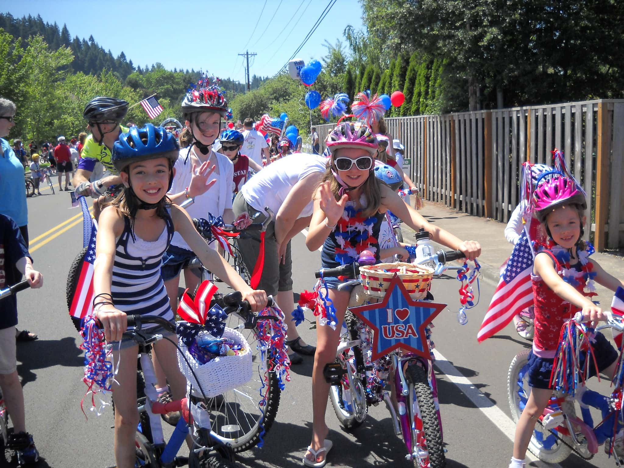 4th of july bike parade decorating craft ideas
