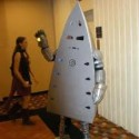 homemade halloween iron man costume funny