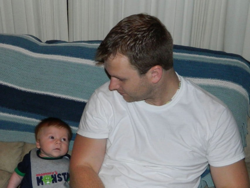 new dad to baby son poem