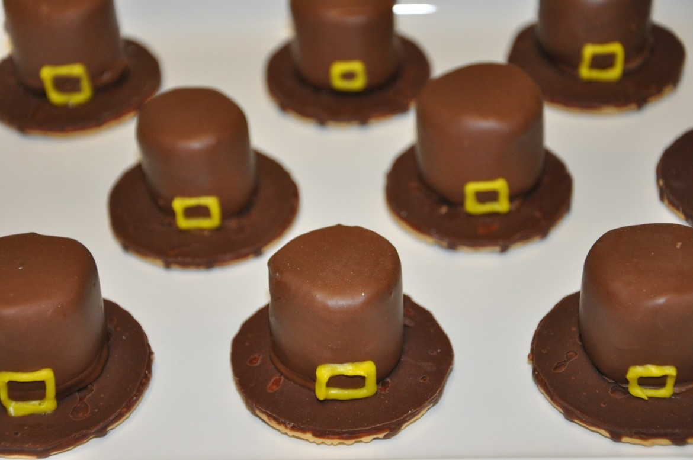 pilgrim hat edible treats