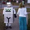 homemade halloween robot costume
