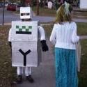 homemade halloween robot costume