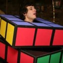homemade halloween rubics cube costume