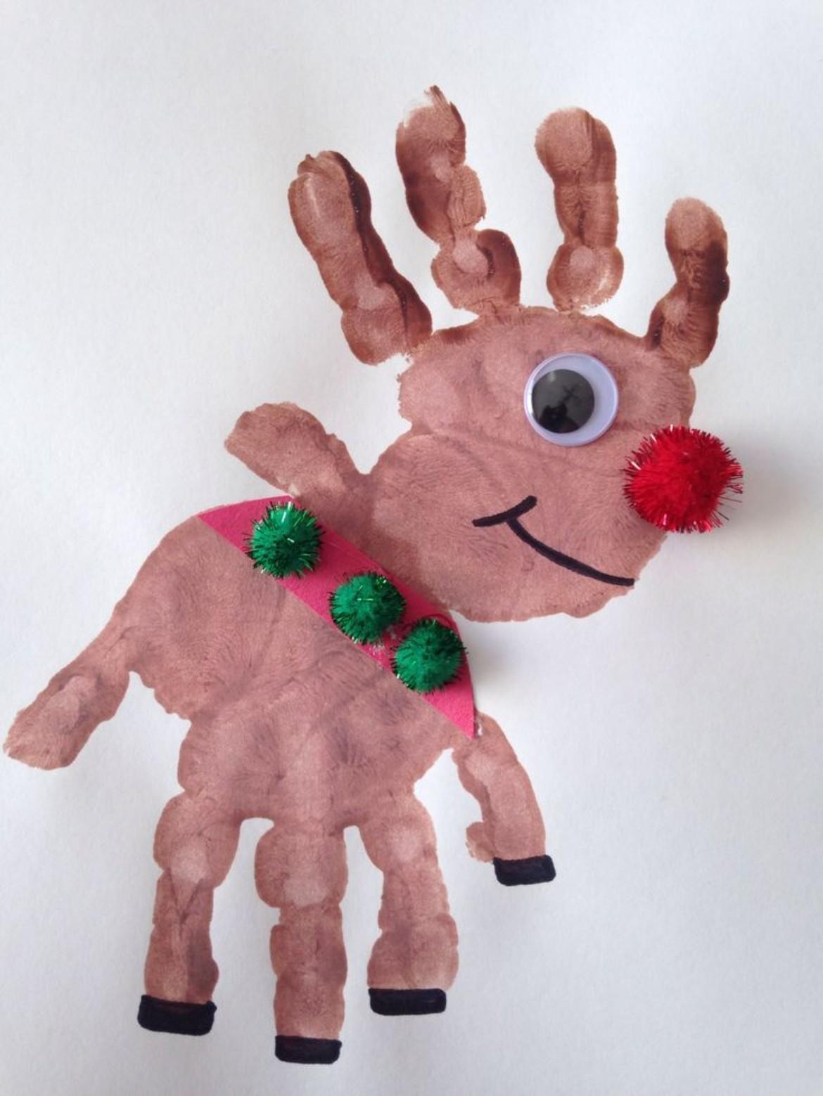 christmas handprint gifts