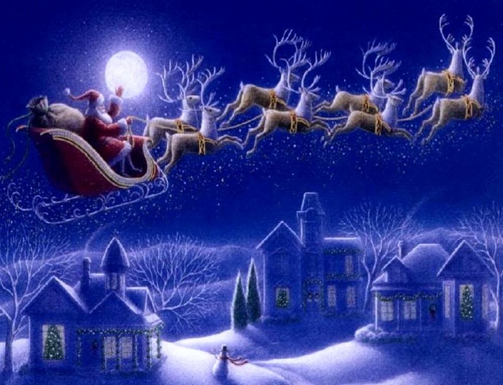 Christmas Alliteration Poem | Santa's Sleigh Alliteration Poem
