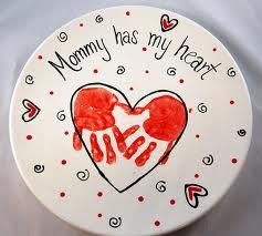heart handprint gift