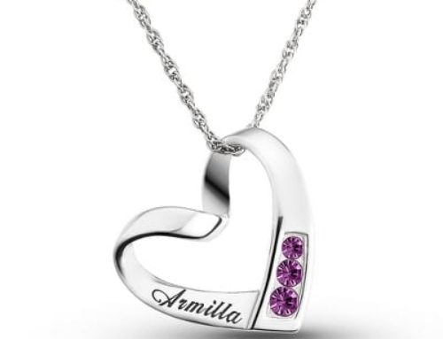 Personalized Valentine Jewelry Gifts | Granddaughter, Grandmom, Mom