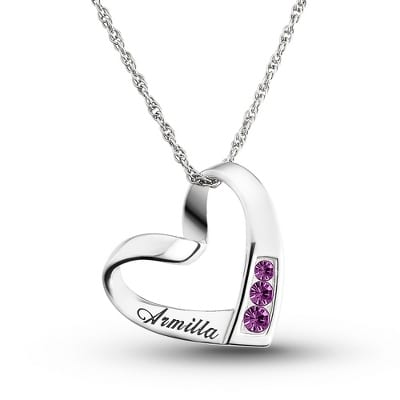 personalized valentine's day jewelry